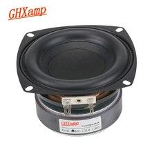 GHXAMP 1PC 4 pouces 40W Subwoofer haut parleur Woofer haute puissance longue course basse Home cinéma pour 2.1 caisson de basses unité haut parleurs bricolage
