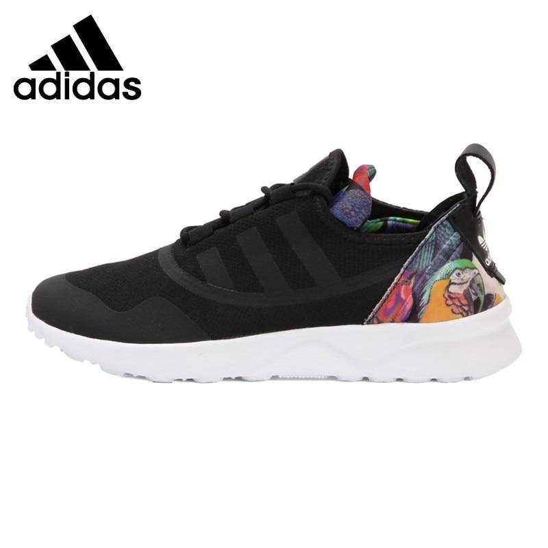 Original New Arrival 2017 Adidas Originals ZX FLUX ADV VIRTUE Womens Skateboarding Shoes Sneakers