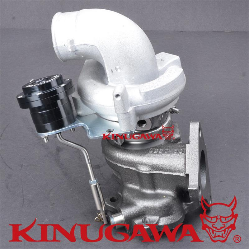 Kinugawa Turbocharger TD04L 15T 6cm 90 Deg Inlet for SUBARU Impreza EJ20 Bolt On in Turbo Chargers Parts from Automobiles Motorcycles