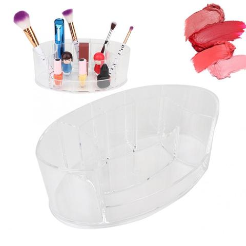 Multi-functional Transparent Makeup Storage Case Desktop Lipstick Makeup Tools Organizer Holder Makeup Tools Organizer Pakistan