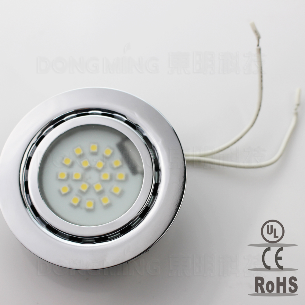 50pcs 1 5w 12v Led Spot Light Recessed