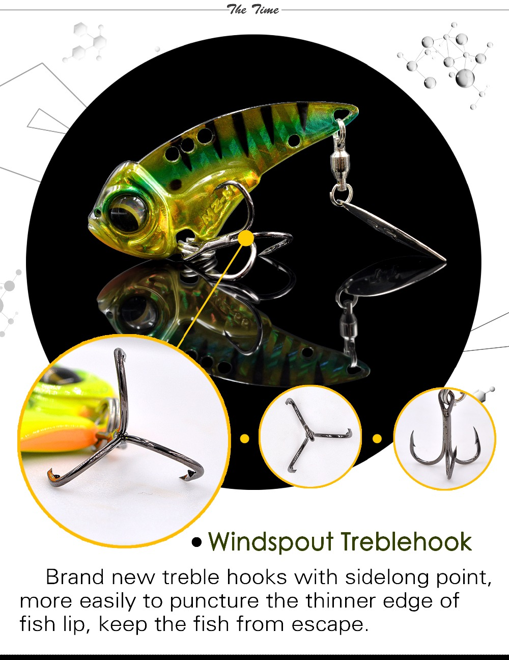 The Time Brand Miracle Crank Metal Vibration Lures Mz55 Fishing Vib Lure Minnow 85 Cm 68gr Bait Treble Hook Crankbait High Quality Vibrador 55mm 14g All Water Sinking Artificial Vibrator