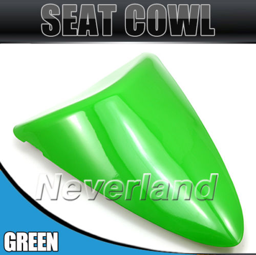 New Arrival Green Motorcycle Rear Seat Cover Cowl For Kawasaki Ninja ZX6R 636 ZX 6R 2007 2008 07 08 #90C20 Wholesale for 2009 2014 kawasaki zx6r zx 6r 636 motorcycle rear passenger seat cover cowl green black 09 10 11 12 13 14