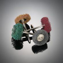 12 электрическая шлифовальная машина dremel dill аксессуары абразивное колесо нейлоновое волокно гравирование шлифование Шлифовальная головка Полировочный диск