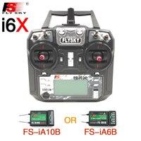 Flysky FS I6X FS I6X 2 4G RC Transmitter Controller 10 6CH IA10B Or IA6B Receiver