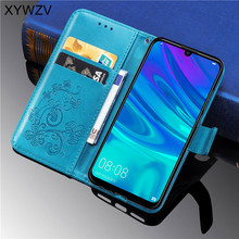 For Huawei Enjoy 9s Case Flip Wallet Soft Silicone Phone Card Holder Cover Y7 Pro 2019