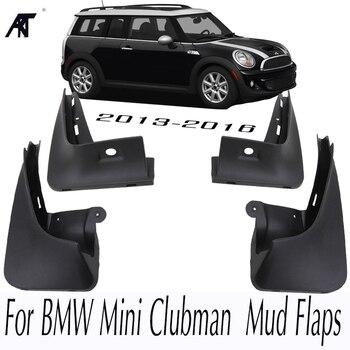 רכב מגיני בץ 4 Pcs עבור BMW מיני Clubman אחד 2013-2017 שחור קדמי אחורי יצוק מגיני שומרי Splash mudflaps פגושים