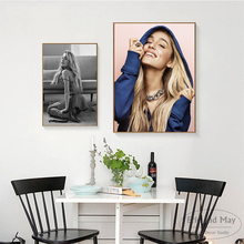 Ariana Grande New Style Singer Canvas Art Print Painting Modern Wall Picture Home Decor Bedroom Decorative Posters No Frame