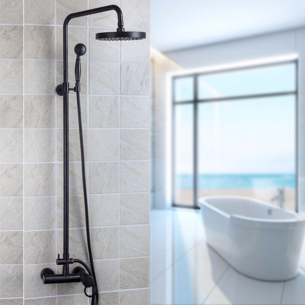 Aliexpress.com : Buy Contemporary Oil Rubber Bronze Bathroom Faucet ...