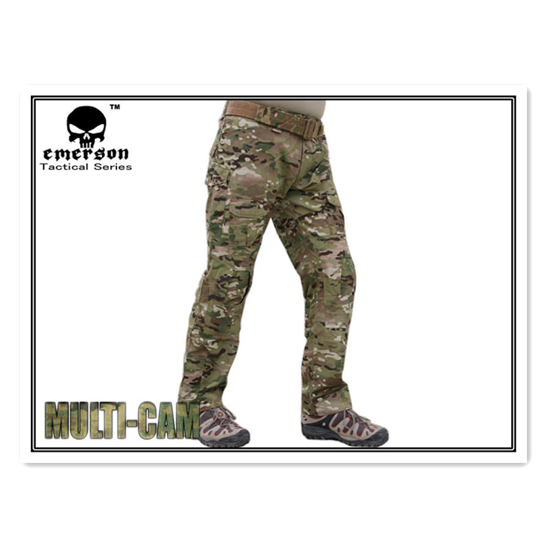 Emerson Tactical pants with knee pads Gen2 Combat military Emerson BDU Airsoft Multicam EM6992 emerson g2 tactical pants with knee pads airsoft combat training military trousers bdu army airsoft paintball pants em8525