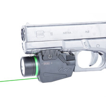 Tactical Green Laser Sight LED Flashlight Combo 150 Lumens Hunting Torch Lights with Picatinny Rail Mount for Pistol security equipment green laser sight and led tactical flashlight combo for hunting