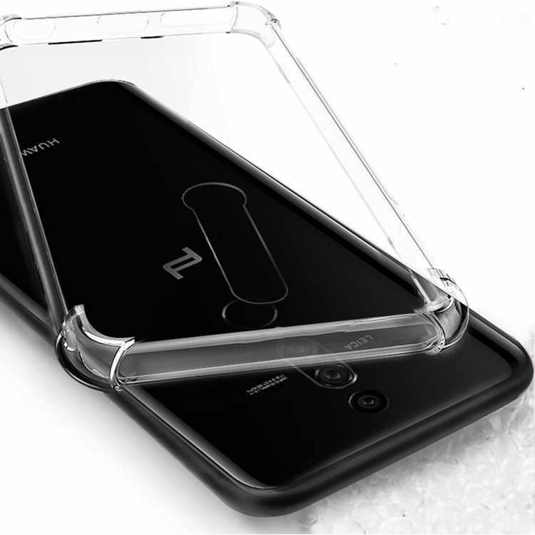 Untuk Huawei Y9 2019 TPU Case Airbag Cover Tahan Guncangan Kembali Menutupi untuk Huawei Y9 2019 2018 untuk Pasangan RS 20 10 Lite Pro Silikon Kasus
