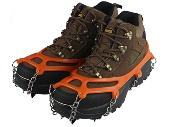 8 Teeth Claw Traction Crampon Anti Slip Ice Cleats Boots