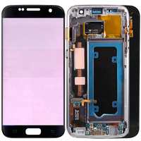 Original G930F LCD For Samsung Galaxy S7 LCD Screen Frame Touch Screen Display SM G930F LCD Display With Burn Shadows