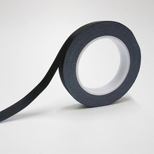 30M/RollBlack Acetate Cloth Single Adhesive Tape Insulate for Motor Coil Wire LCD, Black Fabric & Glue 16mm 30 meters adhesive high temperature isolate acetate tape for monitor screen lcd motor transormor repair