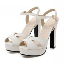 Chunky heel platform sandal online shopping-the world largest ...