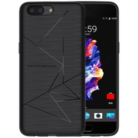 NILLKIN Magic Case For OnePlus 5 Soft TPU Qi Wireless Charging Receiver TPU Back Cover For