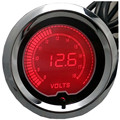 "CAR Motorcycle 2"" 52mm Red LED Volt meter Car Digital Gauge Tint Len"