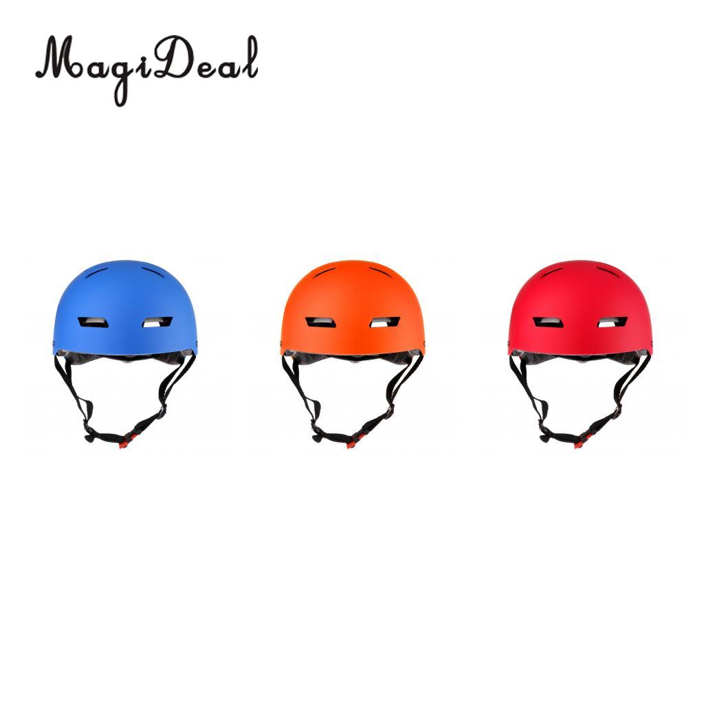 MagiDeal CE Approved Cycling Unisex Sport Safety Helmet for Scooter Skate Roller Skating Ski Sports Fit 54 - 62 cm Head 3 Colors