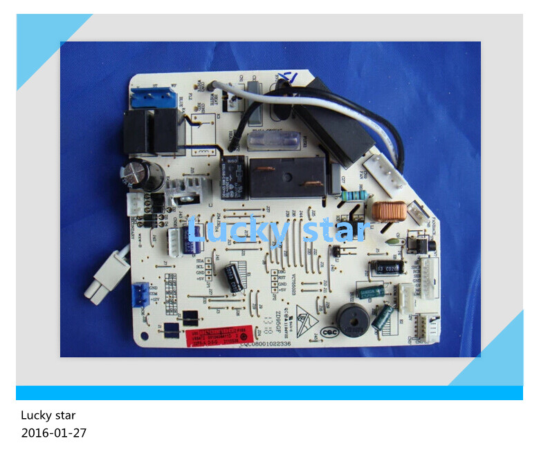 95% new for Haier Air conditioning computer board circuit board KFR-32G/GCC13 0010404411D good working wire universal board computer board six lines 0040400256 0040400257 used disassemble