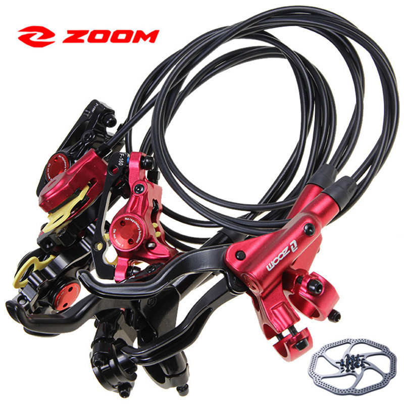 ZOOM <font><b>HB875</b></font> bicycle bike brake Hydraulic Disc Brake front 800mm rear 1400mm Mountain Bicycle Disc Brake image