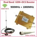 Полный Комплект GSM 900 DCS 1800 МГц МГц Двухдиапазонный Мобильный Телефон Усилитель сигнала 2 Г 4 Г Сигнал Повторителя Сигнала Усилитель с Sucker антенна