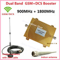 Full Set GSM 900Mhz DCS 1800MHz Dual Band Mobile Phone Signal Booster 2G 4G Signal Repeater Signal Amplifier with Sucker Antenna