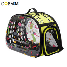 New Arrival Breathable Cat Carrier Outdoor Bags for Small Dogs Transparent Design Shoulder Bag cat pet supplies