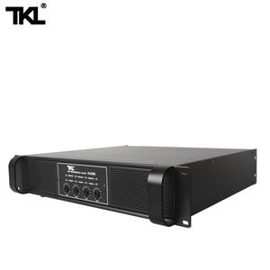 Image 4 - TKL 4 채널 증폭기 300W X4 회의 증폭기 오디오 전문 전력 증폭기 스위칭 전원 공급 장치 HIFI