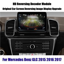 Auto Achteruitrijcamera Achteruitkijkspiegel Backup Camera Voor Mercedes Benz M Ml Gle 2015-2020 Reverse Omkeren Parking Camera Full hd Ccd Decoder