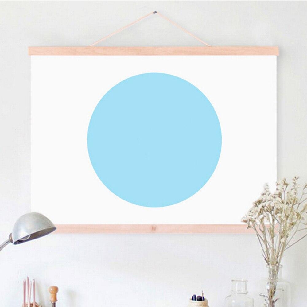Magnetic Wooden Hanger Poster Bilderrahmen DIY Benutzerdefinierte ...