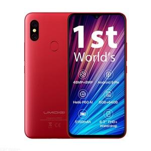 Image 5 - UMIDIGI F1 Play смартфон с 6,3 дюймовым дисплеем, ОЗУ 6 ГБ, ПЗУ 64 ГБ, 48 Мп + 8 Мп + 16 МП, 5150 мАч, Android 9,0, глобальная версия