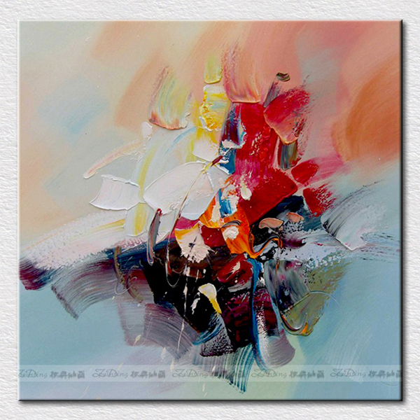 Canvas Pictures For Kitchen Handpainted Abstract Oil