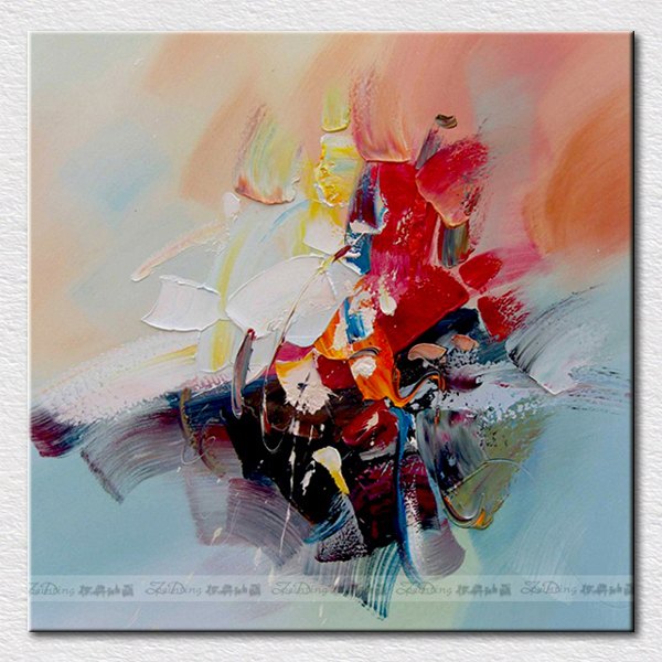 Canvas pictures for kitchen handpainted abstract oil painting modern decoration arts for christmas gift
