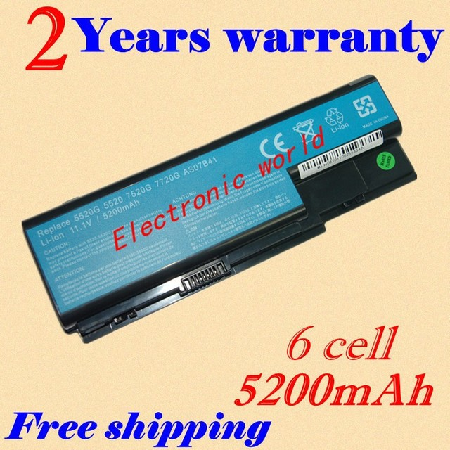 JIGU Laptop Battery For Acer Aspire 5739 5739G 5910G 5920 5920G 5930 5930G 5935 5940 5940G 5942 5942G 65306530G 6920 6920G 6930