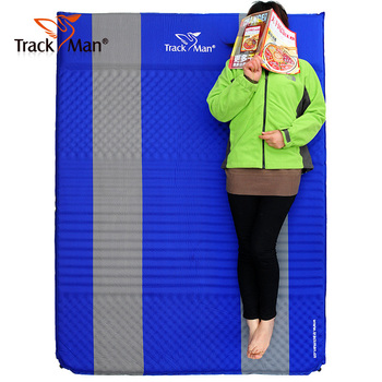 High Grade Trackman automatic inflatable cushion widened thickened couple tent upscale outdoor cushions and mats