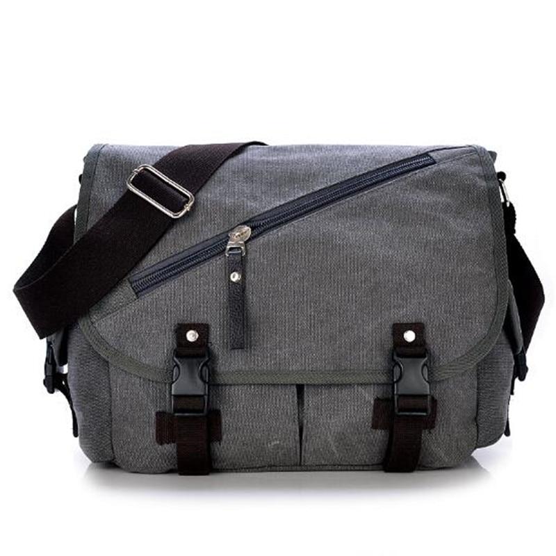 Vintage Canvas Travel Bag Male Handbag Shoulder Bags Satchel Bucket Bag Man's Big Totes Purses Bags