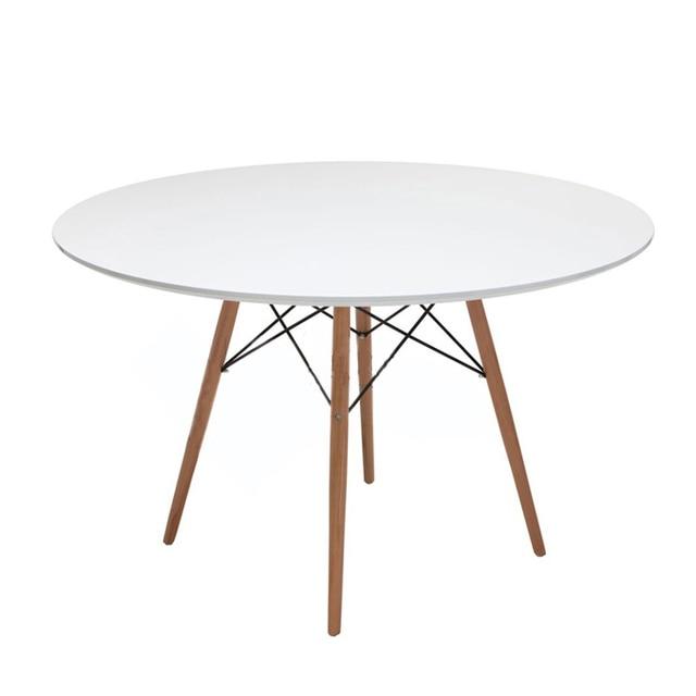 Mediados de siglo Mesa Redonda moderna mesa de comedor pata y parte ...