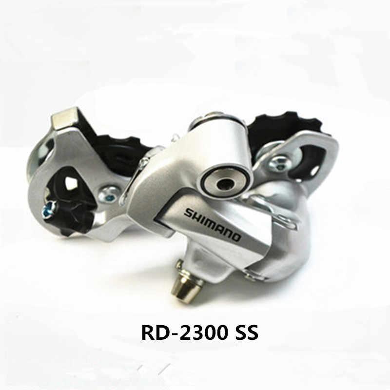 96f7830d5b8 ... Shimano CLARIS ST-2300 2 x 8 speed brake shift bike double control lever  road ...