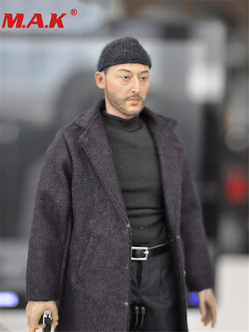 1/6 scale Jean Reno Leon male man movie cold killer actor star full set action figures for collections 1 6 scale vincent rm022 john travolta movie actor action figure for collection