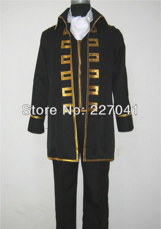 Gintama  Okita Sougo Cosplay Costume Halloween Cloth