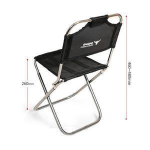 Image 3 - אור חיצוני דיג כיסא על ידי חזק אלומיניום סגסוגת ניילון הסוואה מתקפל קטן גודל כיסא קמפינג טיולים כיסא מושב שרפרף
