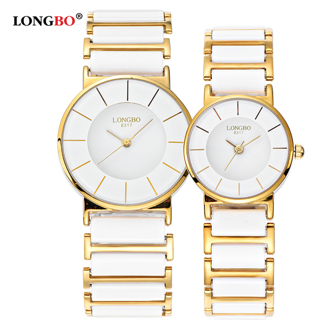 Longbo Brand Men Women Comple Brief Casual Unique Quartz Wrist Watches luxury Ce