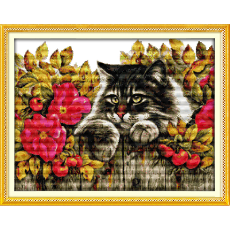 Everlasting love Love each other Chinese cross stitch kits Ecological cotton stamped 11CT DIY gift new year decorations for home
