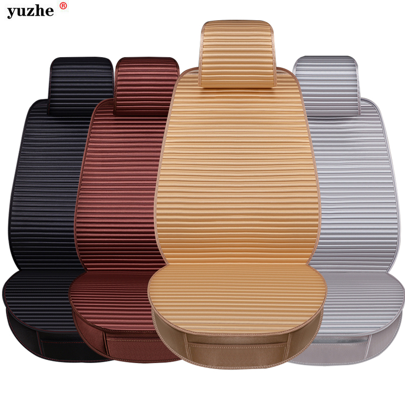 Yuzhe Breathable Mesh car seat covers pad fit for most cars /summer cool seats cushion Luxurious universal size cushion for kia