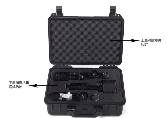 Waterproof tool case camera box Studio photography box 208 144