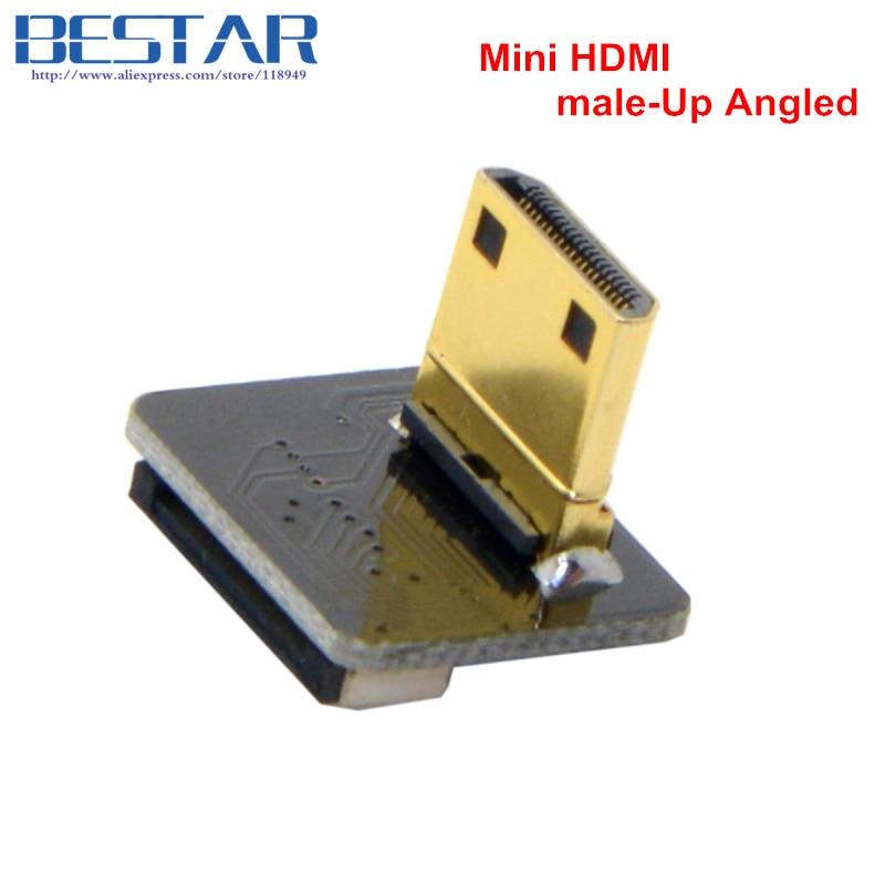 CYFPV Mini HDMI-typ C Kvinna-uttag och hane-Straight & Male-Up & - Datorkablar och kontakter - Foto 3