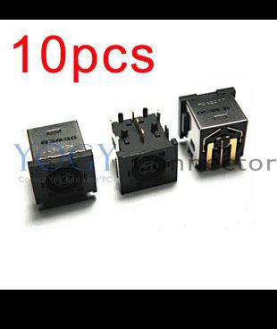 10x New Power DC IN Port Jack Socket Connectors Plug fit for DELL <font><b>Alienware</b></font> <font><b>M17X</b></font> <font><b>R1</b></font> <font><b>M17X</b></font> R2 image