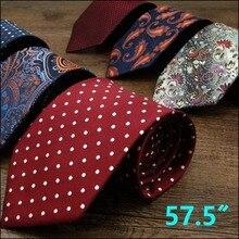 Multicolor Mens Ties Krawatte Seide Marke New Fashion Classic Hochzeit Krawatte für männer