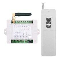 Interruptor de Control remoto inalámbrico para persiana enrollable, Control remoto de 500 3000M de larga distancia, 110V, 220V